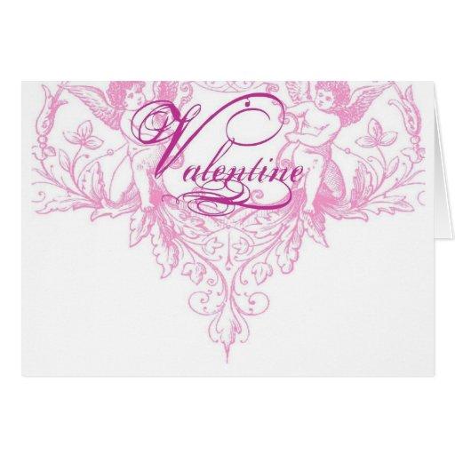 Valentine Bohemian Greeting Card