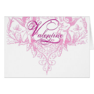 Valentine Bohemian Greeting Card