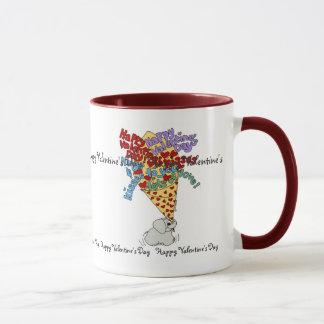 VALENTINE BOUQUET Mug