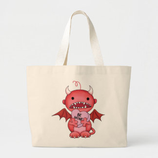 Valentine Boy Devil Canvas Bags