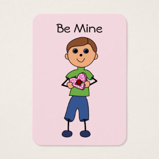 Valentine Boy Mini Card