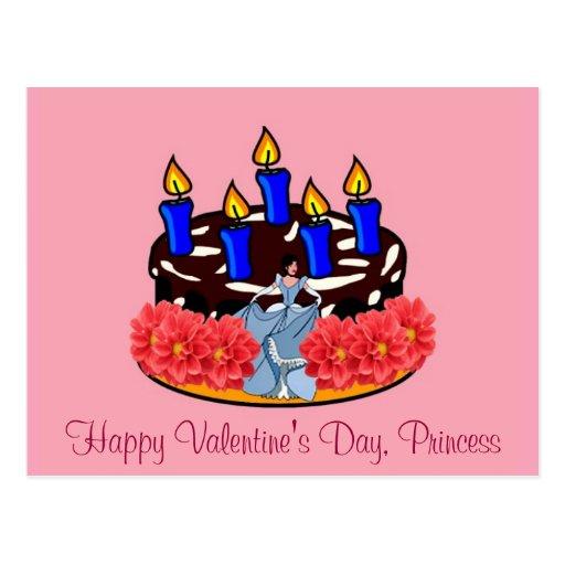 Valentine Cake Post Cards