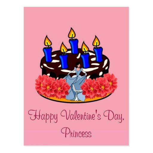 Valentine Cake Postcards