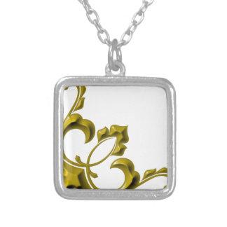 Valentine cap logos symbol square pendant necklace