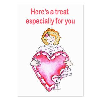 Valentine Card Business Card Template