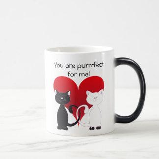 Valentine Cats 1 Morphing Mug