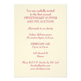 valentine charity party invitation