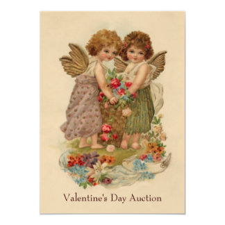 valentine charity party 5x7 paper invitation card