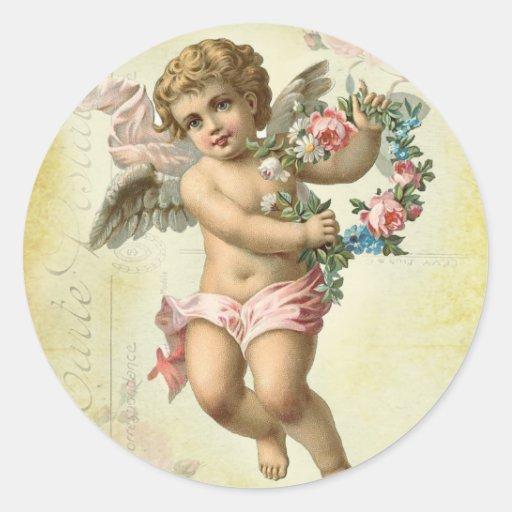Valentine Cherub Sticker