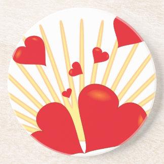Valentine Drink Coaster