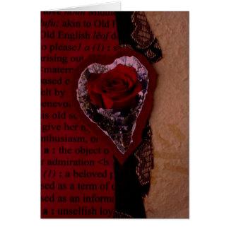 VALENTINE COLLAGE CARD