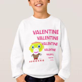 Valentine-Cute Monkey-Morocko Sweatshirt