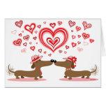 Valentine Dachshunds - Customised