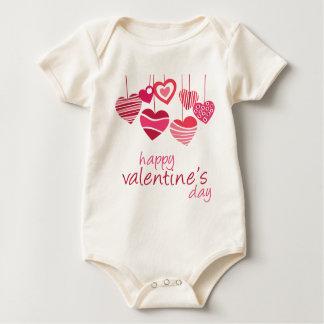 Valentine Day Baby Bodysuit