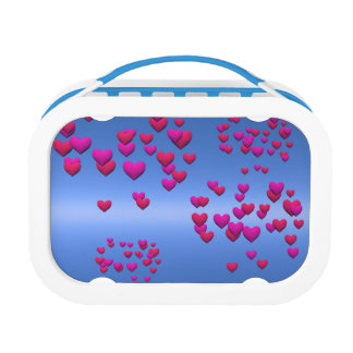 Valentine Day background Lunch Boxes