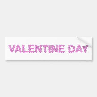Valentine Day Bumper Sticker
