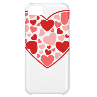 Valentine Day Hearts in Heart Cover For iPhone 5C