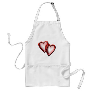 Valentine Day Hearts Standard Apron