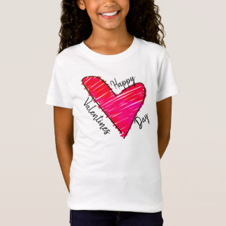 Valentine Day Scribble T-Shirt