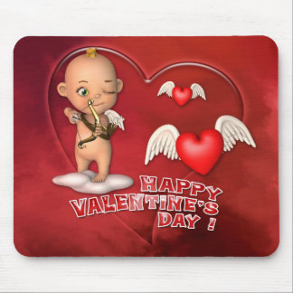 Valentine Day Toon Baby Mousepad