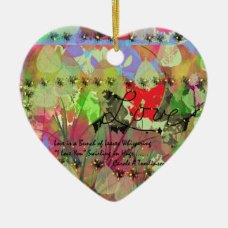 Valentine Decorations and Home Products Ceramic Heart Decoration