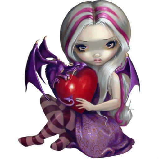 Valentine Dragon fairy PhotoSculpture Standing Photo Sculpture