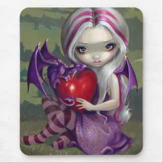 """Valentine Dragon"" Mousepad"