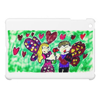 Valentine fairies iPad mini covers