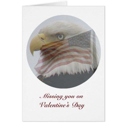 Valentine for Military People Card