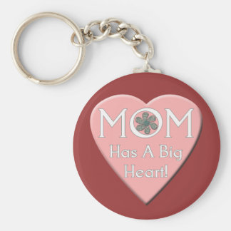 Valentine for Mother T-shirts and Gifts Basic Round Button Key Ring