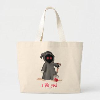 Valentine Grim Reaper Bag