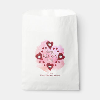 Valentine HAPPY HEARTS DAY Favour Bag