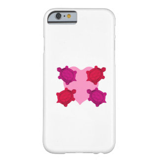 Valentine Heart and Turtles Barely There iPhone 6 Case