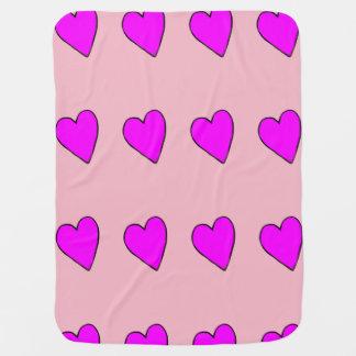Valentine Heart Baby Blanket