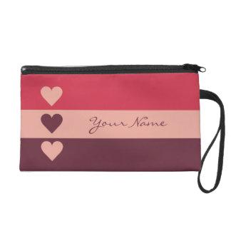 Valentine Heart custom accessory bags