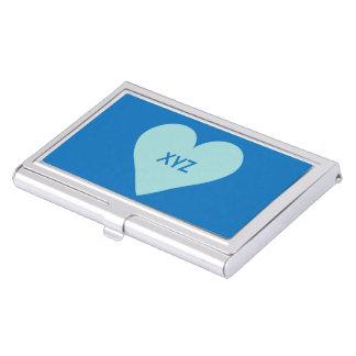 Valentine Heart custom business card holder