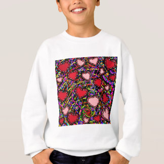 Valentine Heart Designs Sweatshirt