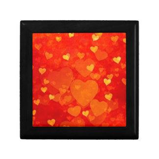 Valentine Heart Graphic Design Gift Box