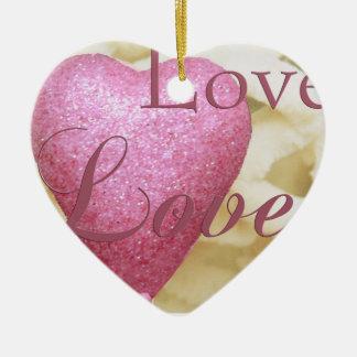 Valentine Heart Ornament for Valentine Gift