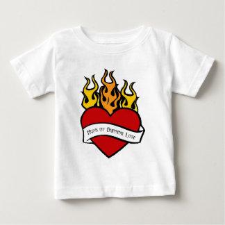 Valentine Heart Tattoo Baby T Shirt