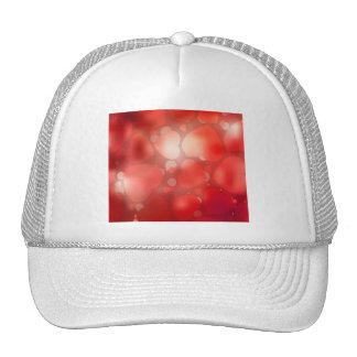 Valentine Hearts Aglow Trucker Hats