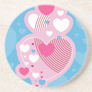 Valentine Hearts Coaster