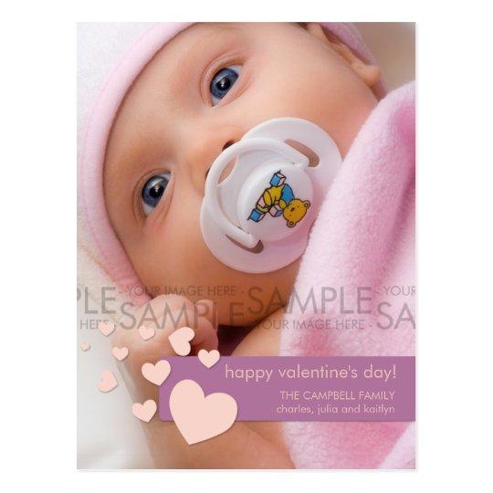 Valentine Hearts Confetti :: Photo Postcard