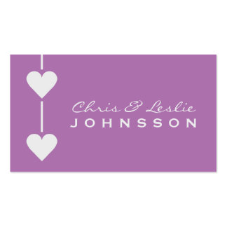 Valentine Hearts custom Business / Thank You cards Pack Of Standard Business Cards