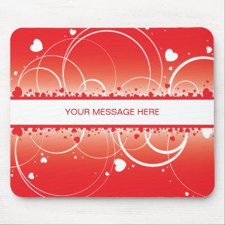 Valentine Hearts Mousepad