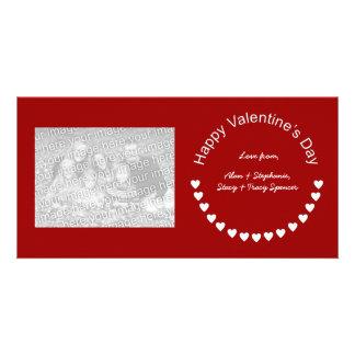 Valentine Hearts Photo Cards