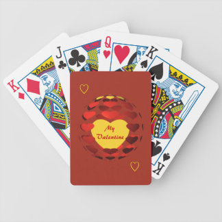 Valentine Hearts Playing Cards