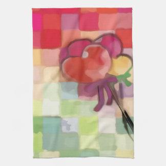Valentine Hearts Towel