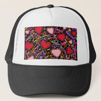 Valentine Hearts Trucker Hat