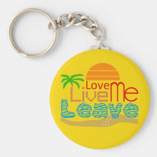 Valentine Keychain - Sea Sun Coils